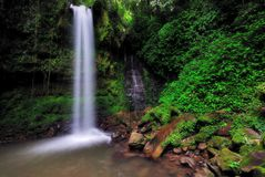 Mahua waterfall in Sabah Borneo Royalty Free Stock Photography