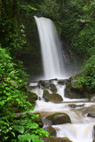 Mahuavattenfall, Tambunan Sabah Arkivbilder