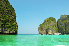 Mahya Bay (or Maya Bay) Royalty Free Stock Photography
