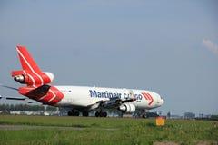 Mai, 2015 11ème, aéroport de Schiphol les Pays-Bas : PH-MCU Martina Image stock