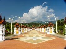 Mai Ταϊλάνδη αλλαγής λουλουδιών κήπων προορισμού Aewsome Στοκ Εικόνες