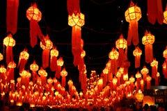 mai фонариков пожара празднества chiang стоковая фотография