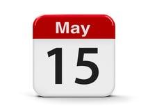 15. Mai lizenzfreie abbildung