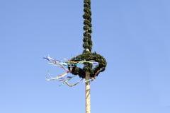 Mai arbre tradition du 1er mai en Allemagne Photo libre de droits
