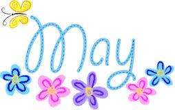 Mai-Blumen vektor abbildung