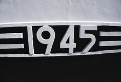 9 mai calibre russe de fond de Victory Day de vacances Traduction russe de l'inscription : 9 mai Victory Day heureuse 1941 et Photographie stock libre de droits