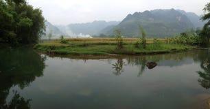 Mai Chau Landscape immagini stock libere da diritti