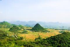 Mai Chau Valley, Hoa Binh Provinz, Vietnam Stockfotos