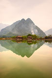 Mai Chau Valley, North Vietnam. Royalty Free Stock Photo