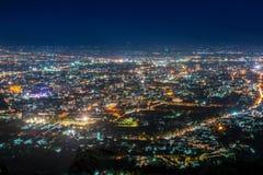 Mai Chiang άποψη νύχτας Στοκ Εικόνες