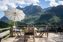 Mai Chiang στο βουνό dao Chiang, καλή άποψη Στοκ Εικόνες
