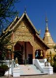 Mai Chiang, TH: Wat Chai Pakhet Стоковая Фотография