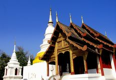 Mai Chiang, TH: Wat Phra Singh Стоковое Изображение