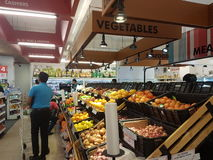 21. Mai 2017 Damansara Kuala Lumpur Held-Markt Sri Damansara Stockbild