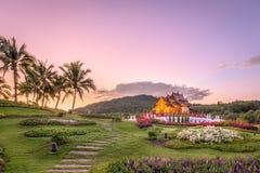 MAI de Chaing, pavilhão de Tailândia imagens de stock