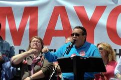 1. Mai Demonstration 77 Stockfotografie