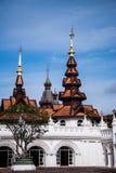 MAI DI CHAIANG, TAILANDIA - 20 SETTEMBRE 2014: La località di soggiorno di lusso, Mandarin Oriental Dhara Dhevi Fotografie Stock