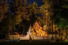 MAI DI CHAIANG, TAILANDIA - 20 SETTEMBRE 2014: La località di soggiorno di lusso, Mandarin Oriental Dhara Dhevi Fotografie Stock Libere da Diritti