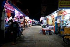 MAI di Chaing del mercato di notte Fotografie Stock
