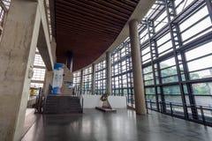 24. Mai 2017 Innenraum des Yingge-Keramik-Museums in neuem Taipeh-Ci Stockbild