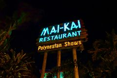 Mai-Kai Restaurant imagen de archivo