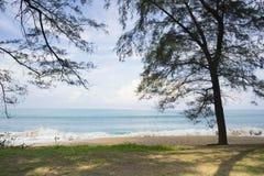 Mai Khao-strand in Phuket, Thailand Royalty-vrije Stock Foto