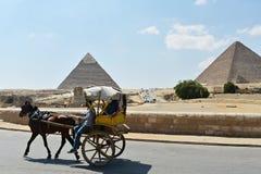Mai, 6, 2019 La pyramide de Gizeh, le Caire, Egypte image libre de droits