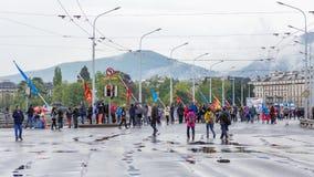 3 mai 2015 marathon d'harmonie à Genève switzerland Images libres de droits