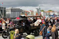 17. Mai 2016: Nationaltag in Norwegen Stockbild