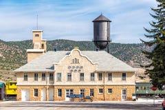 11 mai 2015 Nevada Northern Railway Museum, Ely est Photos libres de droits