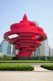 4 mai Qingdao carré photos stock