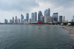 Mai quatrième Qingdao carré Seaview Photo libre de droits