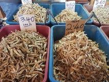 1. Mai Seremban, Malaysia Hauptmarkt bekannt als Pasar Besar Seramban während des Wochenendes lizenzfreies stockbild
