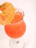 Mai Tai Cocktail On White Table Stock Photo