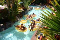 Mai Thai River en Siam Park en Costa Adeje en Tenerife imágenes de archivo libres de regalías