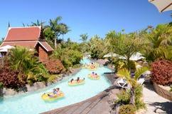 Mai Thai River en Siam Park en Costa Adeje en Tenerife foto de archivo libre de regalías