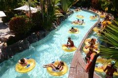 Mai Thai River in Siam Park in Costa Adeje on Tenerife Royalty Free Stock Photos