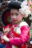 mai thailand för chiangfestivalblomma Arkivfoton