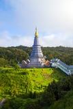 mai thailand för chiangdoiinthanon Fotografering för Bildbyråer