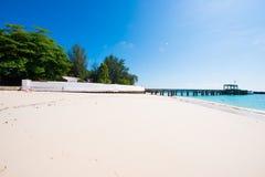Mai Ton-eiland mooi strand in Phuket Stock Afbeelding