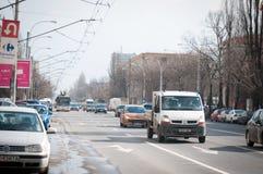 1 mai-trafik Royaltyfria Bilder