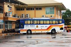 MAI van Chiang en bus Luangprabang. Royalty-vrije Stock Afbeelding