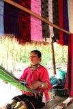 MAI van Chiang van de vrouwen van Karen stock foto