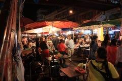 MAI van de Warorosmarkt chiang in de nacht Royalty-vrije Stock Fotografie