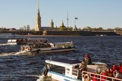 Mai, 9 - Victory Day L'†de St Petersburg, Russie «peut 9, 2015 Image libre de droits