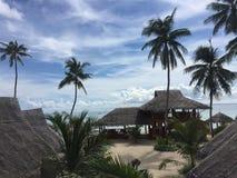 Maia Beach en la isla Filipinas de Bantayan Foto de archivo