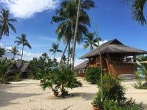 Maia Beach en la isla Filipinas de Bantayan Fotografía de archivo libre de regalías