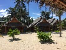 Maia Beach en la isla Filipinas de Bantayan Fotografía de archivo