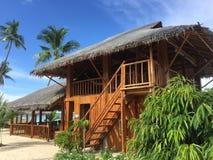 Maia Beach i Bantayan öFilippinerna Arkivfoto