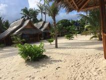Maia Beach i Bantayan öFilippinerna Arkivbild